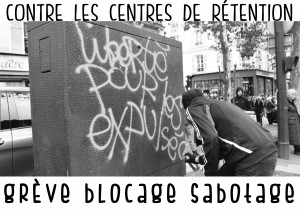 contre les centres de rétention