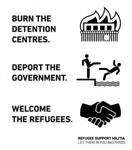 burn deport welcome