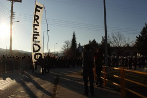 December 13, Paranesti detention center, Greece