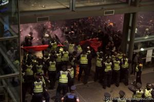 London eurostar protest 3