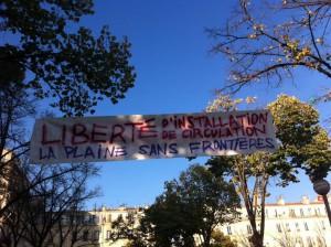 Marseille quartier de la plaine 8 novembre 2015
