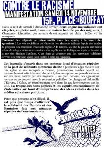 Nantes 14 novembre 2015
