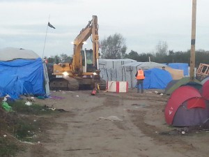 calais 12 novembre destruction jungle 1